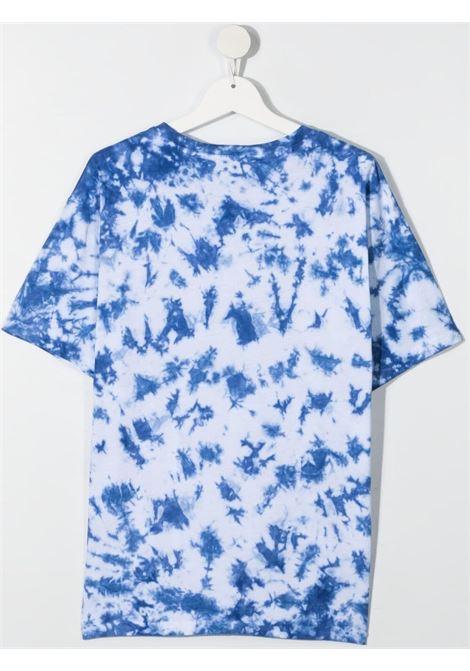 dkny tshirt marmorizzata con stampa scritta  logo DKNY | Tshirt | D25D33V21T