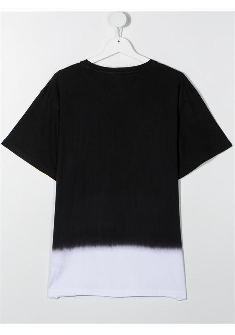 dkny tshirt bicolore con stampa scritta  logo DKNY   Tshirt   D25D34M41T