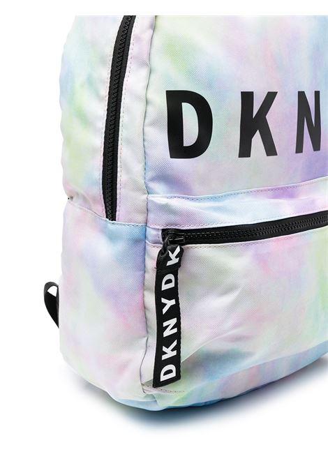 dkny zaino con stampa scritta  logo DKNY | Zaino | D30508Z40