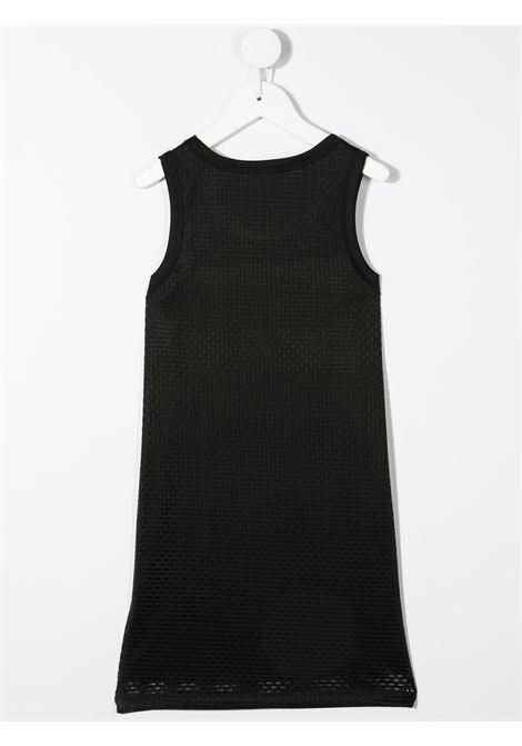 dkny abito canotta in cotone  con stampa scritta  logo DKNY | Abito | D3277909B