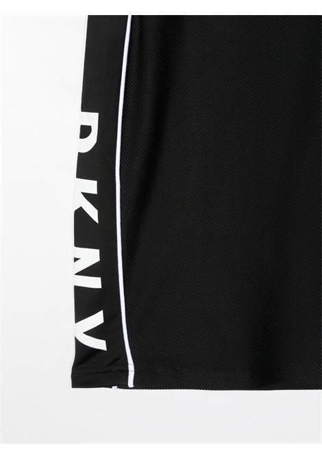 dkny gonna con profili a contrasto e stampa scritta logo DKNY | Gonna | D3357209BT