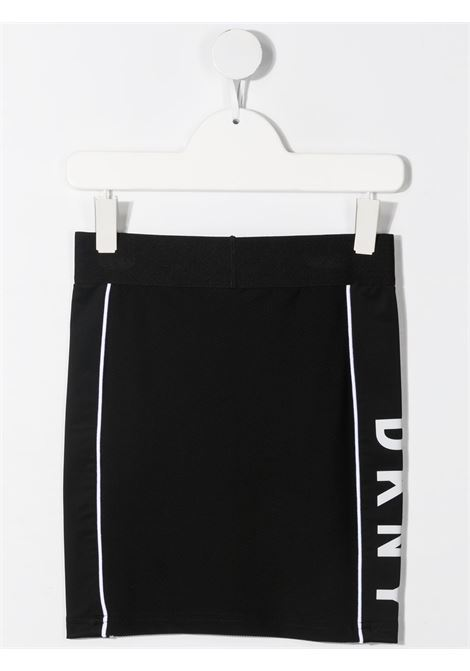 dkny gonna con profili a contrasto e stampa scritta logo DKNY | Gonna | D3357209B