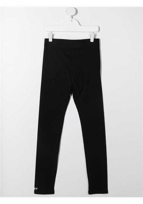 dkny leggins con stampa scritta logo DKNY | Leggins | D34A0909BT