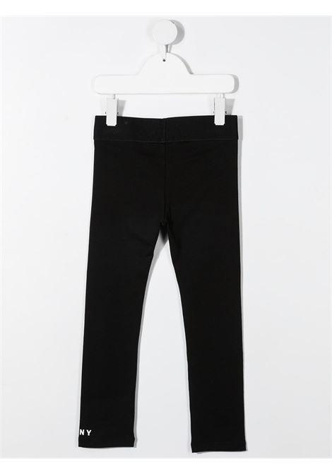 dkny leggins con stampa scritta logo DKNY | Leggins | D34A0909B