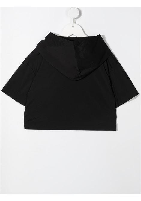 dkny blusa con cappuccio e profili a contrasto e con stampa scritta logo DKNY | Blusa | D35R2909B