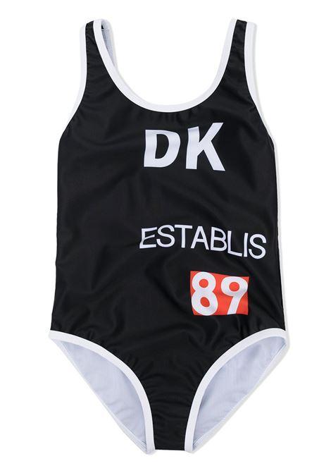 dkny costume intero con stampa scritta logo DKNY | Costume | D3710209B