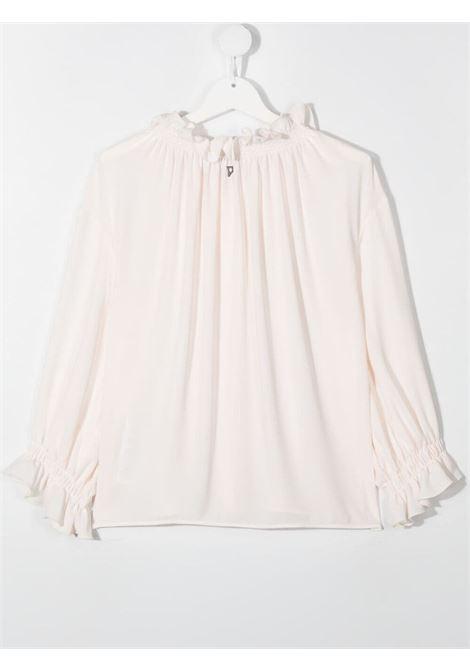 dondup kids polo camicia con arricci DONDUP | Camicia | DFCA61GA88WDUNI10002T