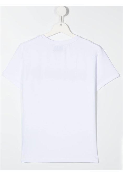 dondup kids tshirt con scritta logo in strass DONDUP | Tshirt | DFTS70JE174WD028B018T