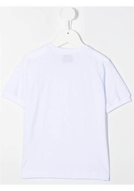 dondup kids tshirt con manicaraglun e stampa DONDUP | Tshirt | DMTS53JE138WD026B017