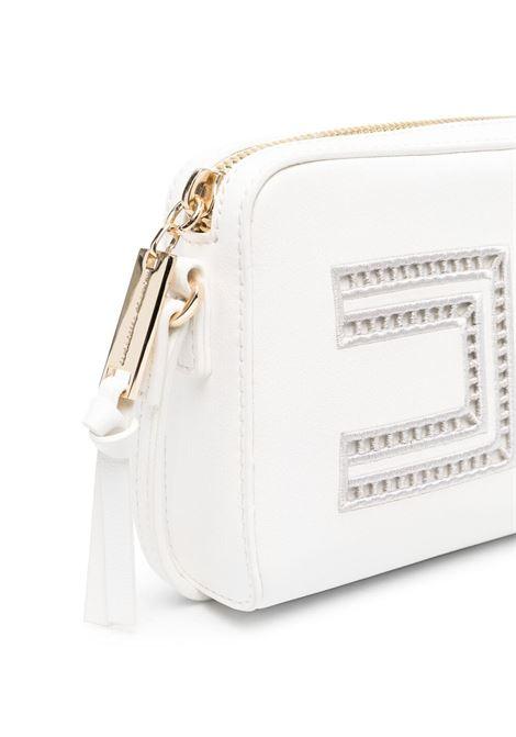 elisabbetta franchi borsa con ricamo e placca logo ELISABETTA FRANCHI | Borsa | EFBO460096WE0250022