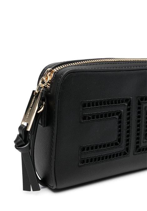 elisabbetta franchi borsa con ricamo e placca logo ELISABETTA FRANCHI | Borsa | EFBO460096WE025N015