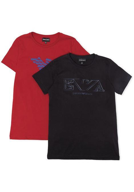 EMPORIO ARMANI KIDS | Set tshirt | 3K4D014J9Z0920T