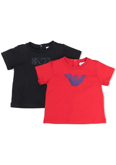 EMPORIO ARMANI KIDS | Set tshirt | 3KHD014J09Z0920