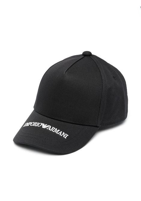 emporio armani cappello EMPORIO ARMANI KIDS | Cappello | 4046321P48700020