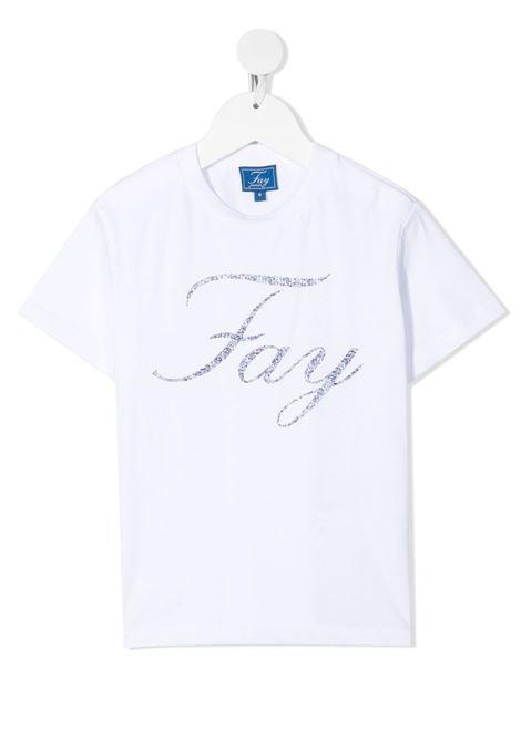 FAY | Tshirt | 5O8031OX130100BL