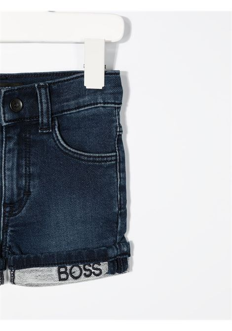 hugo boss shorts in denim logato HUGO BOSS | Bermuda | J04392Z07