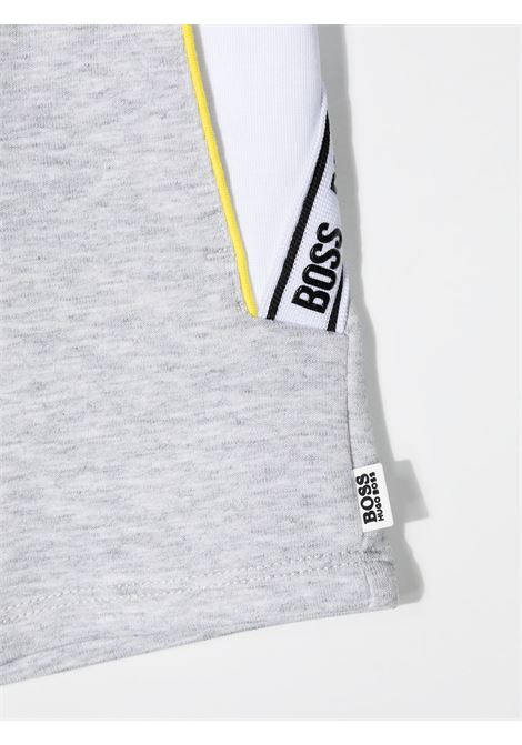 hugo boss shorts in felpa logato HUGO BOSS | Bermuda | J04394A32
