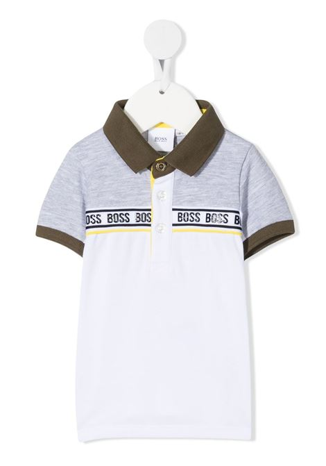 hugo boss polo bicolor con logo HUGO BOSS | Polo | J05852M01