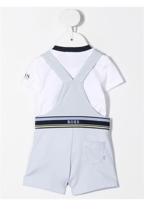 hugo boss salopette con tshirt con logo HUGO BOSS | Salopette | J98313771