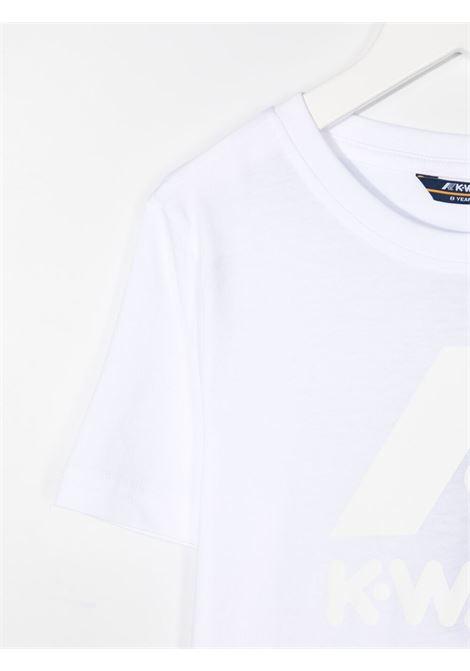 kway kids tshirt elliot logo K WAY KIDS   Tshirt   K009PR0001