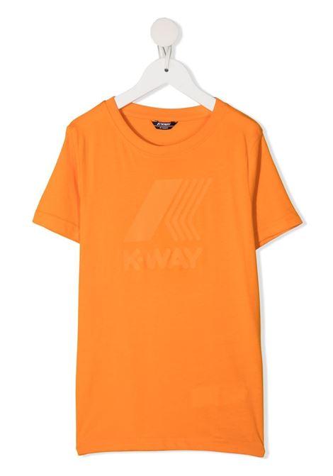 kway kids tshirt elliot logo K WAY KIDS   Tshirt   K009PR0026