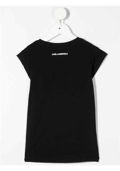 tshirt con scritta logo karl lagerfild kids KARL LAGERFELD KIDS | Tshirt | Z1529909B