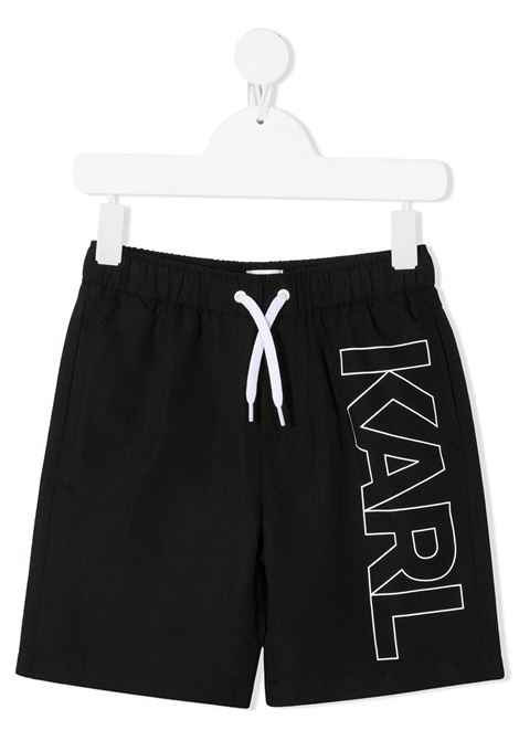 boxer mare con stampa logo karl lagerfild kids KARL LAGERFELD KIDS | Boxer mare | Z2005509B
