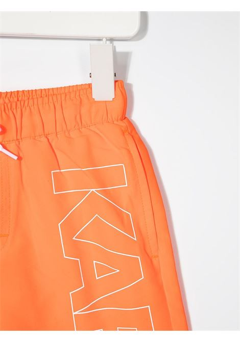 boxer mare con stampa logo karl lagerfild kids KARL LAGERFELD KIDS | Boxer mare | Z20055406
