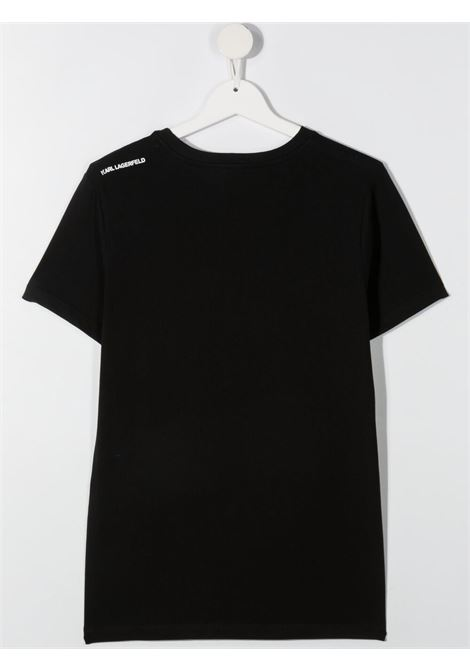 tshirt con stampa logo karl lagerfild kids KARL LAGERFELD KIDS | Tshirt | Z2527809BT