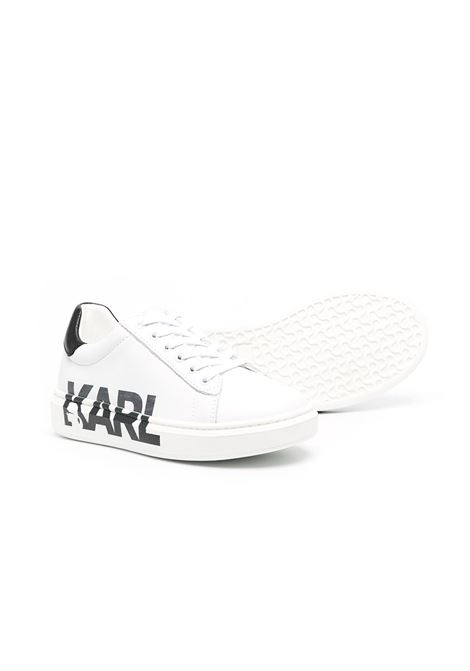 sneakers con stampa logo karl lagerfild kids KARL LAGERFELD KIDS | Sneakers | Z29M3110B
