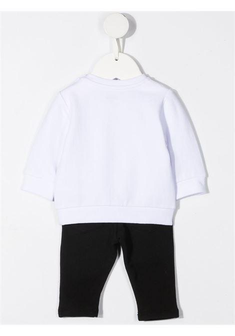felpa con pantalone con stampa karl lagerfild kids KARL LAGERFELD KIDS | Completo | Z98079M41
