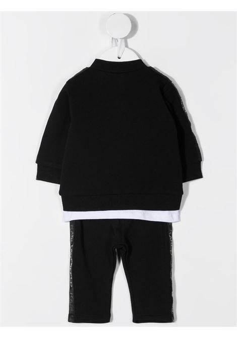 completo tre pezzi felpa con pantalone e tshirt con stampa karl lagerfild kids KARL LAGERFELD KIDS | Completo | Z98081M41