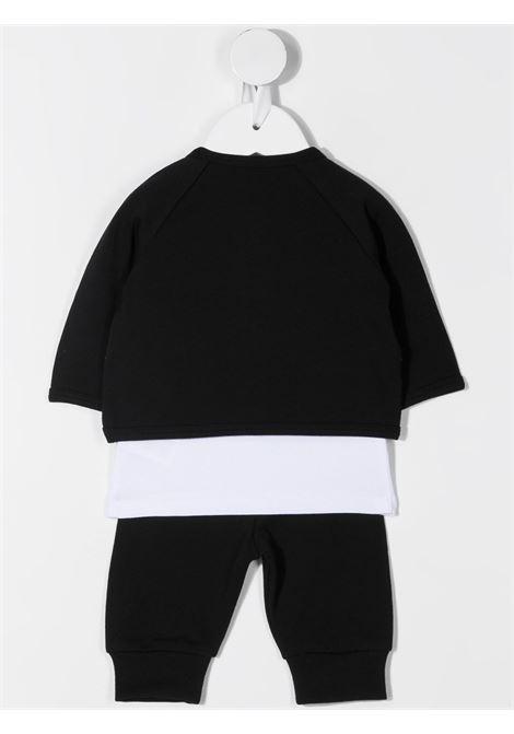 completo tre pezzi pantalone,felpa e tshirt con stampa karl lagerfild kids KARL LAGERFELD KIDS | Completo | Z98082M41
