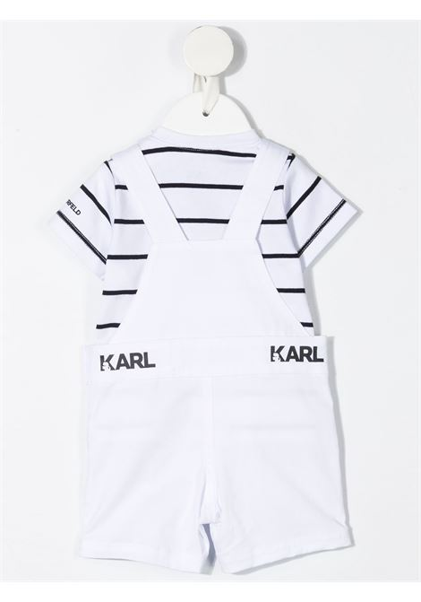 salopette con polo karl lagerfild kids KARL LAGERFELD KIDS | Completo | Z98083N50
