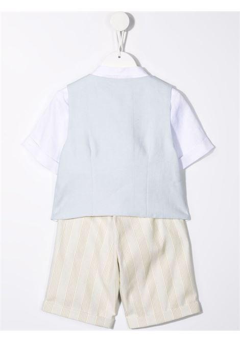la stupenderia gilet con bermuda e camicia coreana LA STUPENDERIA | Completo | CCCT59D68Q44