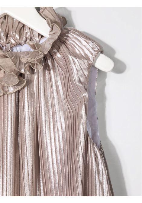 la stupenderia top plisse' con giacchino e gonna ricamata LA STUPENDERIA | Completo | CJCH58M52N54X48