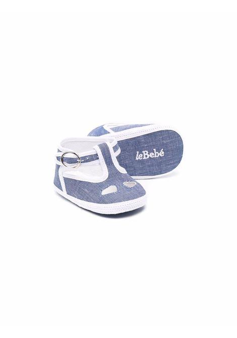 le bebe' scarpina con occhielli LE BEBE' | Scarpe | LBB3219BL