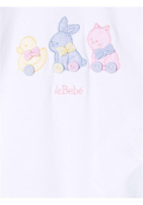 le bebe' pagliaccetto con applicazioni LE BEBE' | Pagliaccetto | LBB3354B/R