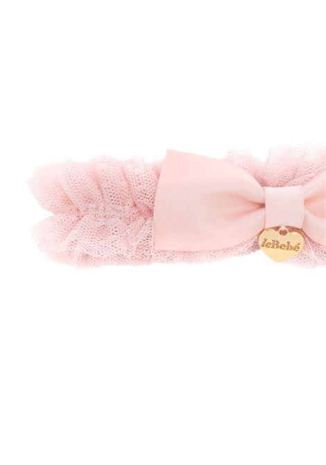 le bebe' fascia in tulle con fiocco LE BEBE'   Fascia capelli   LBG3513P