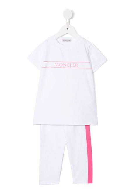 moncler tshirt con pantalone MONCLER | Completo | 9518M762108790N002
