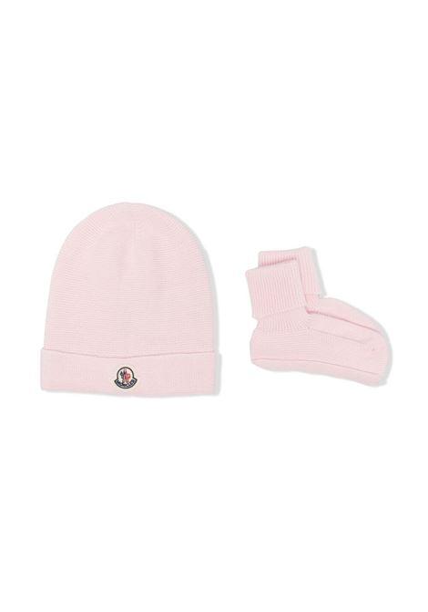 moncler set cappello con calzini MONCLER | Set cappello | 9519N70200V9150503