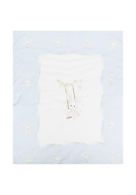 coperta monnalisa in cotone interlock stampa coniglietti MONNALISA BEBE | Coperta | 22700870080158