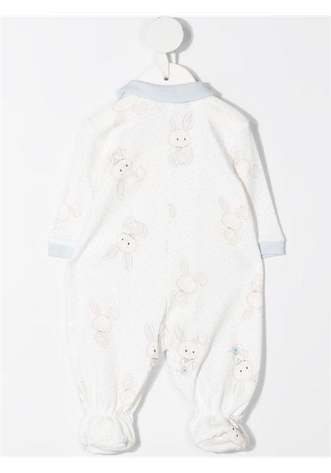 tutina monnalisa in cotone interlock stampa coniglietti MONNALISA BEBE | Tutina | 22720470110158