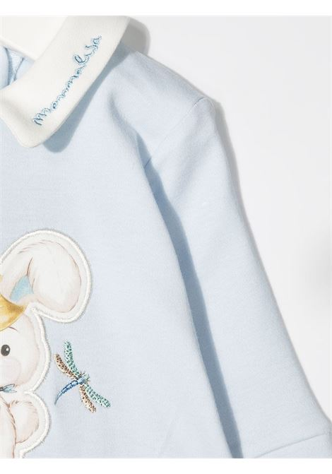 tutina monnalisa in cotone interlock stampa rabbit MONNALISA BEBE | Tutina | 22720670080058