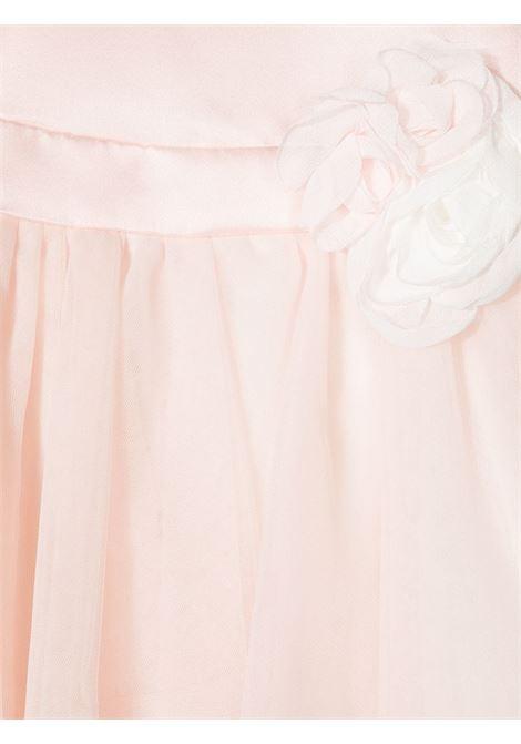 abito monnalisa chic emy in duchesse con bouquet MONNALISA CHIC | Abito | 737902F471320092