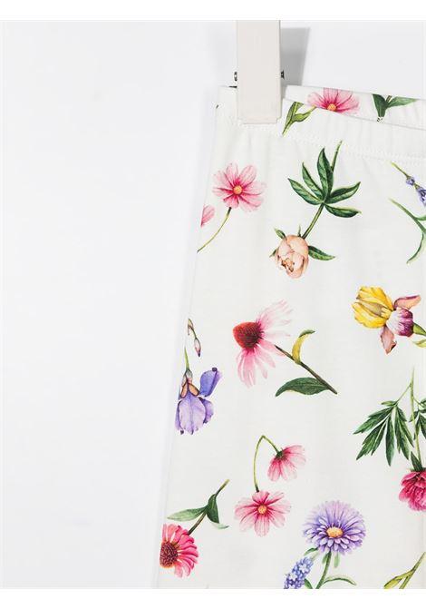 leggins monnalisa in jersey con stampa fiorellini MONNALISA | Leggins | 11740476010001