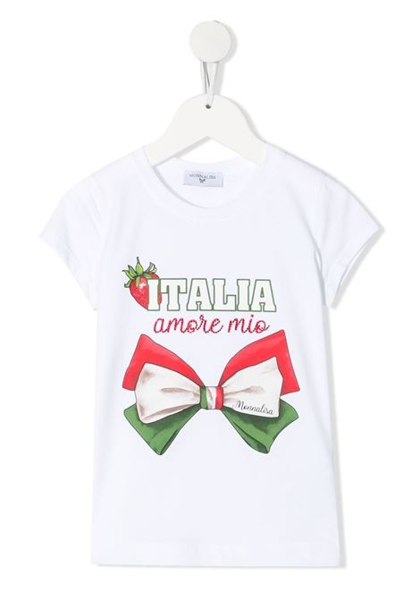 t-shirt stampata MONNALISA   Tshirt   117619P372010099