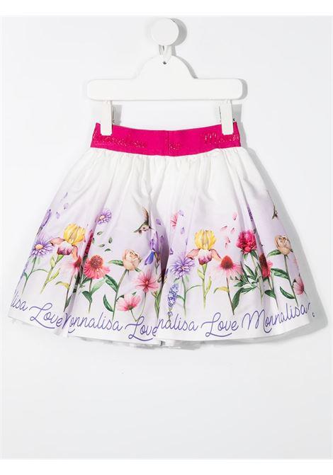 gonna monnalisa in popeline stampa fiori love MONNALISA | Gonna | 11770176060001