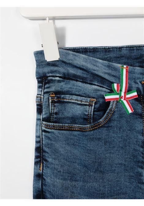 jeans con fragole MONNALISA | Jeans | 197406R970280055T