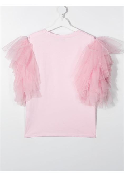 t-shirt monnallisa tulle MONNALISA | Tshirt | 417611AC72060048T